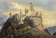 Burg achalm rekonstruktion 1856-1-