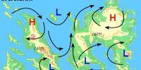 Vexillium's prevailing winds