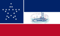 Mississippi State Flag Proposal No. 2 Designed By Stephen R Barlow 16 Aug 2014 at 1719hrs cst