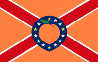 Georgia State Flag Proposal No 42 Designed By Stephen Richard Barlow 25 NOV 2014 at 1055 hrs cst