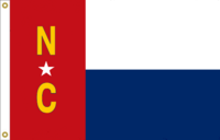 North Carolina Flag Proposal No 14b Designed By Stephen Richard Barlow 15 MAY 2015 at 0726 HRS CST.