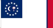 South Carolina State Flag Proposal No. 17 Designed By Stephen Richard Barlow 07 JAN 2015 at 0853 HRS CST