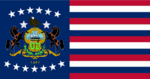 Pennsylvania State Flag Proposal No 10 Designed By Stephen Richard Barlow 01 SEP 2014 at 1347hrs cst