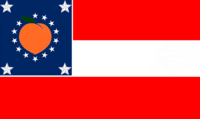 Georgia State Flag Proposal No 17 Designed By Stephen Richard Barlow 28 AuG 2014 at 0857hrs cst