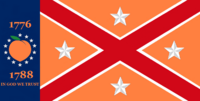 Georgia State Flag Proposal No 20h Designed By Stephen Richard Barlow 25 NOV 2014 at 0610 hrs cst