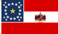 Alabama State Flag COA No 1 Proposal Designed By Stephen Richard Barlow 26 DEC 2014 at 0736 HRS CST
