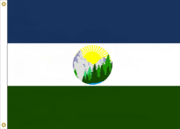 Oregon State Flag Proposal No. 9 Designed By Stephen Richard Barlow 24 MAY 2015 at 0838 HRS CST.