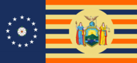 New York State Flag Proposal By Stephen Richard Barlow 07 OCT 2014 at 0820hrs cst