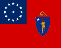 Massachusetts State Flag Proposal No 2 Designed By Stephen Richard Barlow 13 AuG 2014 at 1500hrs cst