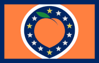 Georgia State Flag Proposal No 41c Design By AlternateUniverseDesigns Remix Color Edit By Stephen Richard Barlow 24 NOV 2014 at 0758 hrs cst