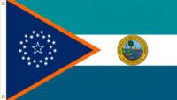 Florida State Flag Proposal No. 6a Designed By Stephen Richard Barlow 14 JAN 2015 at 1247 HRS CST.