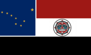 Alaska State Flag Proposal No 8 Designed By Stephen Richard Barlow 08 SEP 2014 at 2151hrs cst