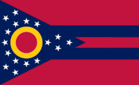 Ohio State Flag Proposal No. 9 Designed By Stephen Richard Barlow 29 AuG 2014 at 1155hrs cst