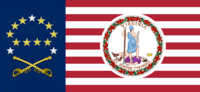 Virginia State Flag Proposal No 18d Designed By Stephen Richard Barlow 19 NOV 2014 at 1113 hrs cst