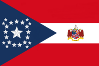 Alabama State Flag Proposal New Stars and Bars Contellation Designed By Stephen Richard Barlow 10 NOV 2014 at 1127 hrs cst