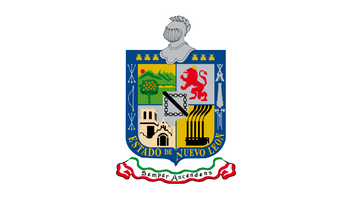 De facto flag of Nuevo León