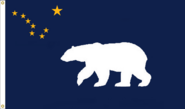 Alaska State Flag Proposal No 11 Remix added hoist eyelets Designed By Stephen Richard Barlow 29 SEP 2014 at 1135 HRS CST