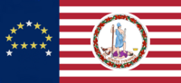 Virginia State Flag Proposal No 18b Designed By Stephen Richard Barlow 19 NOV 2014 at 0730 hrs cst