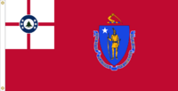 Massachusetts Flag Proposal No. 9 Designed By Stephen Richard Barlow 19 MAY 2015 at 1350 HRS CST.