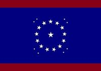 Alabama State Flag Proposal Crimson Blue Crimson 22 Star Madallion Designed By Stephen Richard Barlow 25 July 2014