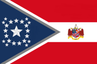 Alabama State Flag Proposal New Stars and Bars Constellation (C) Designed By Stephen Richard Barlow 10 NOV 2014 at 1202 hrs cst