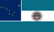 Alaska State Flag Proposal No 10 Designed By Stephen Richard Barlow 08 SEP 2014 at 2152hrs cst