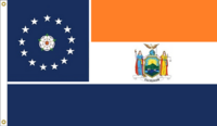 New York State Flag Proposal Designed By Stephen Richard Barlow 16 APR 2015 at 0837 HRS CST.