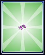 Purple sneakers boys
