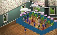 Bluehairedmonkeys room