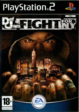 Def Jam Fight For Ny-DVD-PS2
