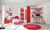 Stylsih-Adorable-and-Stunning-Kids-Bedroom-Design-Idea-with-red-and-White-Color-Splashing-590x360