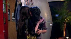 Jade and beck kiss