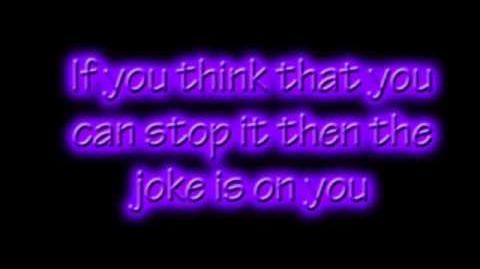 The Joke Is On You Niki Watkins Lyrics on Screen