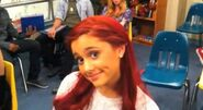 Ariana is sooo in her character