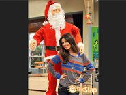 Tori and Santa