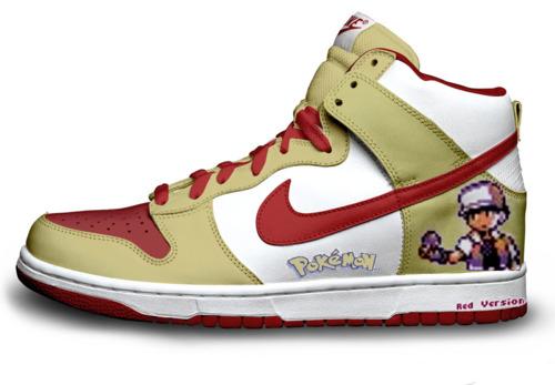 File:Trainer Red Sprinting Sneakers.jpg