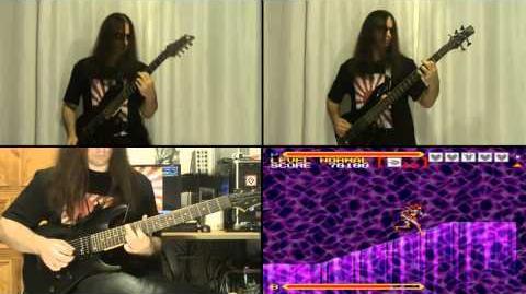 DEMON ShineGami - Super Valis IV (metal medley)