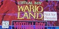 Virtual Boy Wario Land Demo