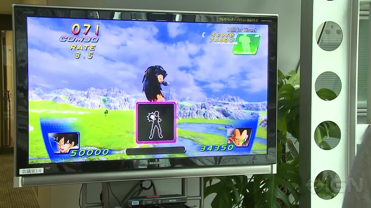 Dragon Ball Z for Kinect Goku vs Raditz