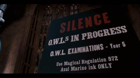 Harry Potter and the Order of the Phoenix - OWLs