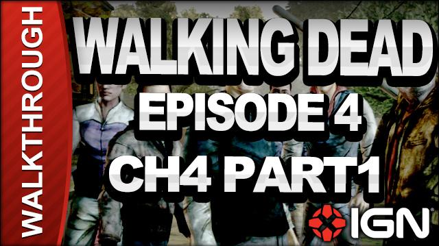 *SPOILERS* The Walking Dead The Game - Episode 4 Around Every Corner - Chapter 4 Part 1 - Walkthrough