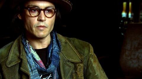 "Sweeney Todd The Demon Barber Of Fleet Street (2007) - Interview Johnny Depp ""On ""Sweeney's"" Altercation with ""Pirelli"""""