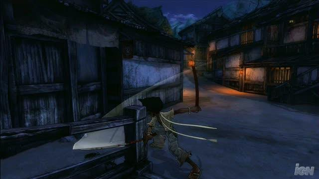 Afro Samurai Xbox 360 Gameplay - Town Fights