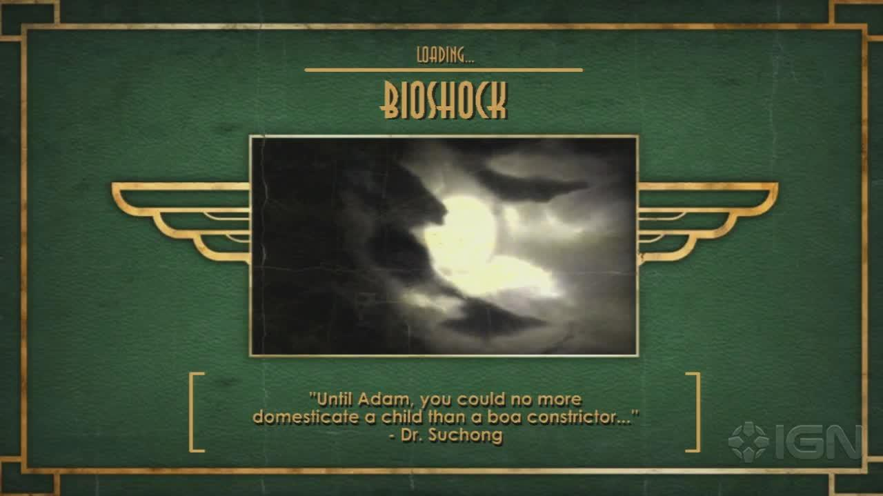 BioShock - Intro Cinematics - Gameplay