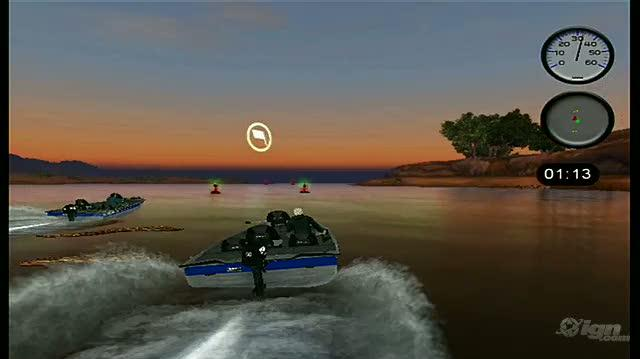 Bass Pro Shops The Strike Nintendo Wii Gameplay - Boat Race Challenge