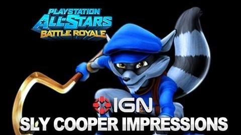 PlayStation All-Stars First Impressions Sly Cooper