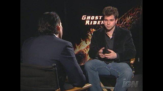 Ghost Rider Movie Interview - Nicolas Cage