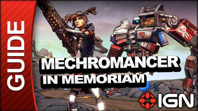 Borderlands 2 Mechromancer Walkthrough - In Memoriam - Side Mission