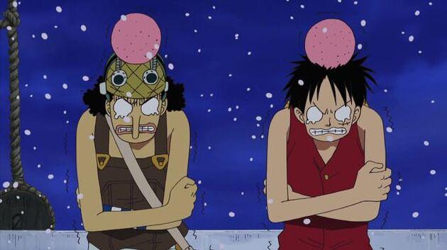 File One Piece - Episode 327 - Sunny in a Pinch! Roar, Secret Superspeed Mecha!