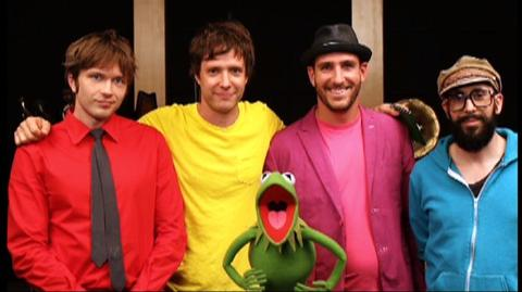 The Muppets (2011) - Featurette Behind The Scenes - Ok Go Video